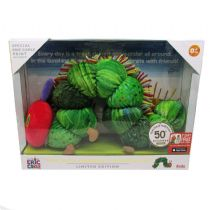 Very Hungry Caterpillar LIMITED EDITION Plush Toy & Special PRINT 50th Birthday